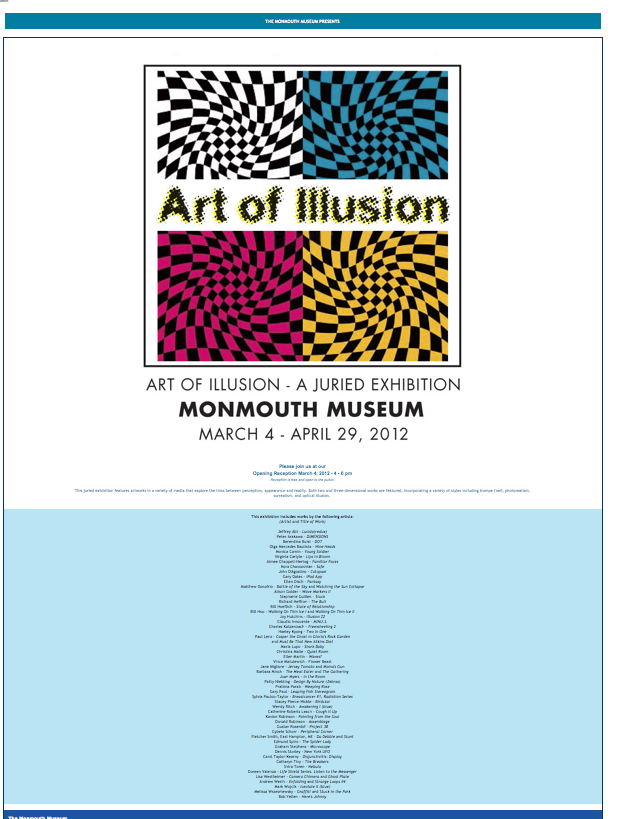 monmouth museum art of illusion show
